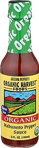 Organic Harvest Foods Pepper Sauce Habanero, 5 Ounce