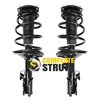 Front Quick Complete Struts & Coil Spring Assemblies Compatible with  2002-2003 Toyota Camry (Pair)
