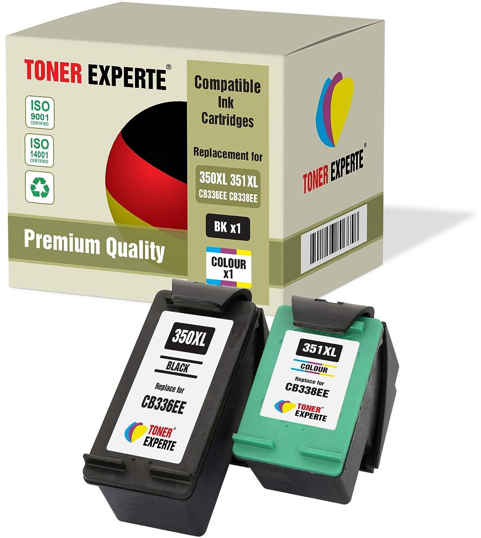 Pack de 2 XL TONER EXPERTE® Cartuchos de Tinta compatibles ...