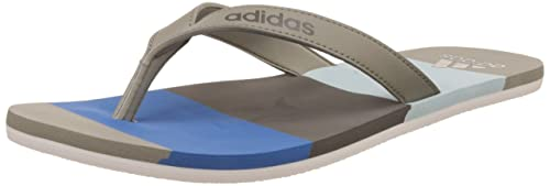 13c570288 adidas Men s Eezay Striped Flip-Flops green Size  7 UK  Amazon.co.uk ...