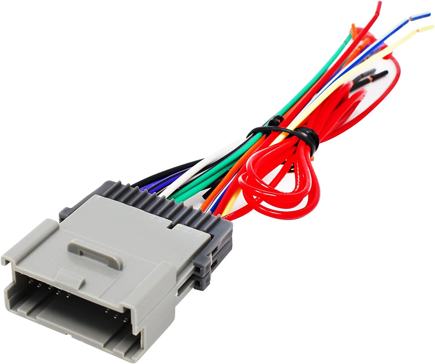 Replacement Radio Wiring Harness for 2005 Hyundai Santa Fe Base Sport  Utility 4-Door 2.7L - Car Stereo Connector: Car Electronics - Amazon.com | Hyundai Santa Fe Radio Wiring Harness |  | Amazon.com
