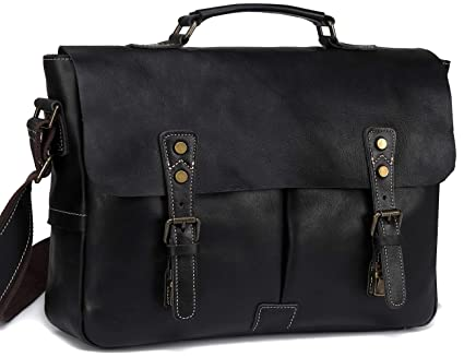 29d8331bc520 Image Unavailable. Image not available for. Color: Leather Messenger Bag  for Men ...