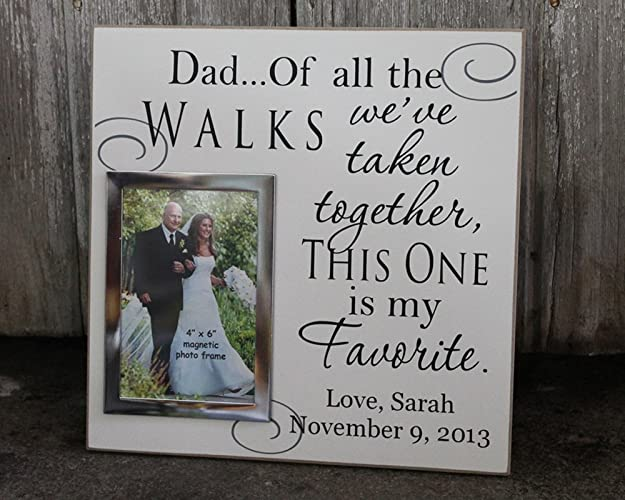 Amazon 12x12 Dad Of All The Walks We Have Taken Personalized