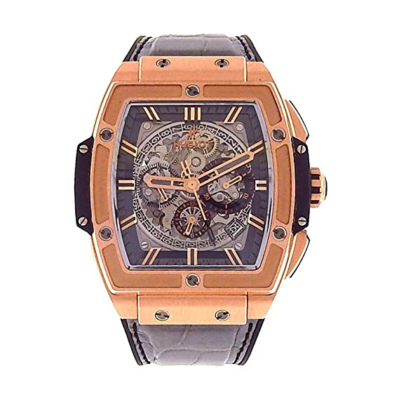 Hublot espíritu de Big Bang automatic-self-wind Mens Reloj 601. Ox. 0148. LR (Certificado) de segunda mano: Hublot: Amazon.es: Relojes
