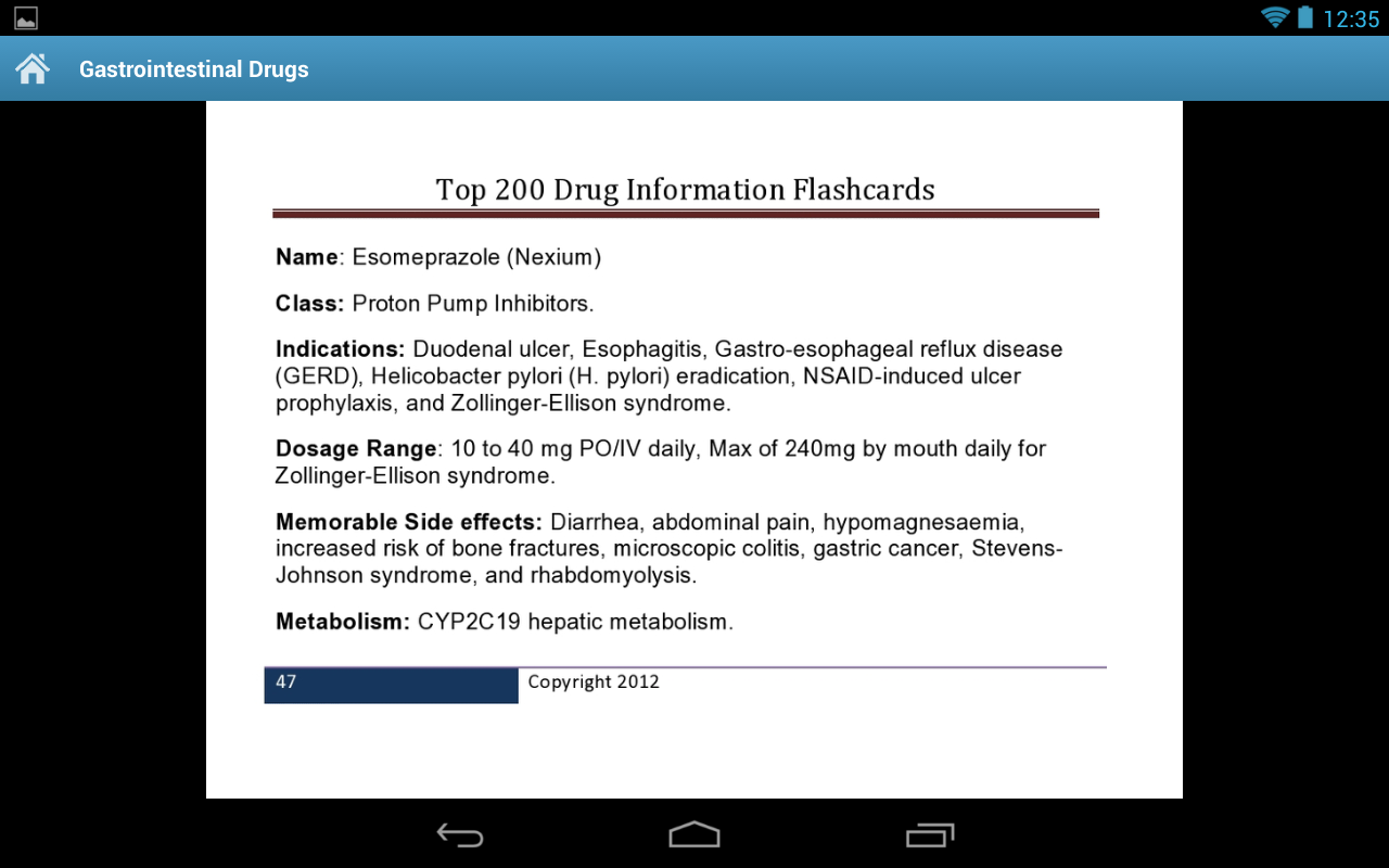 Amazon.com: Pharmacy Top 200 Drug Information Flash Cards