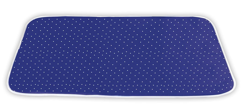 Wenko 1201073100 Vapor funda planchar, Algodón, Azul