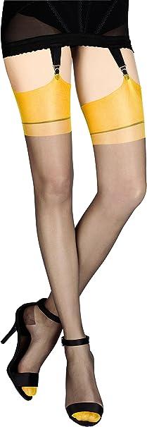 Cervin Calze di nylon per reggicalze CAPRI 10 den