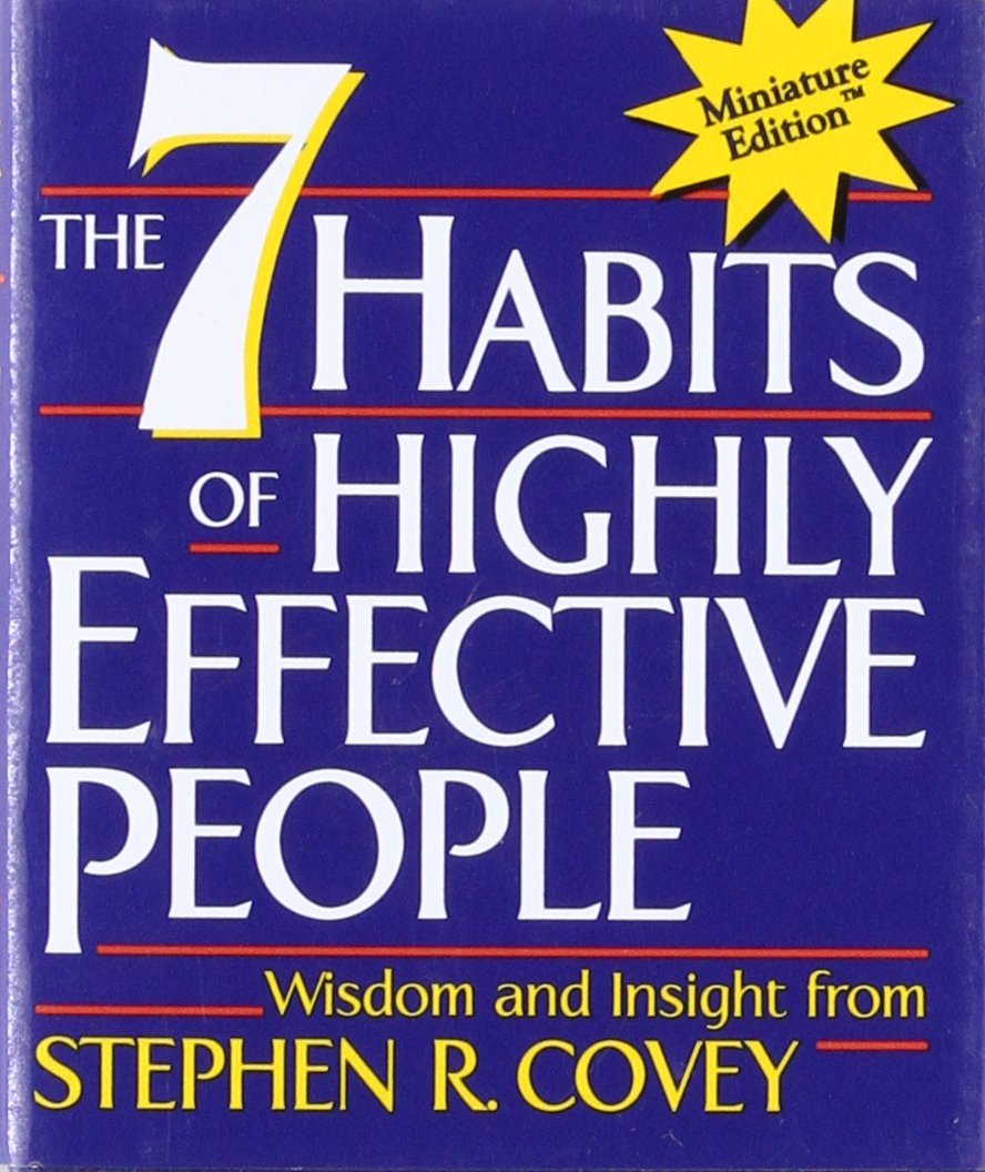 The 7 Habits of Highly Effective People(Miniature Edition ...