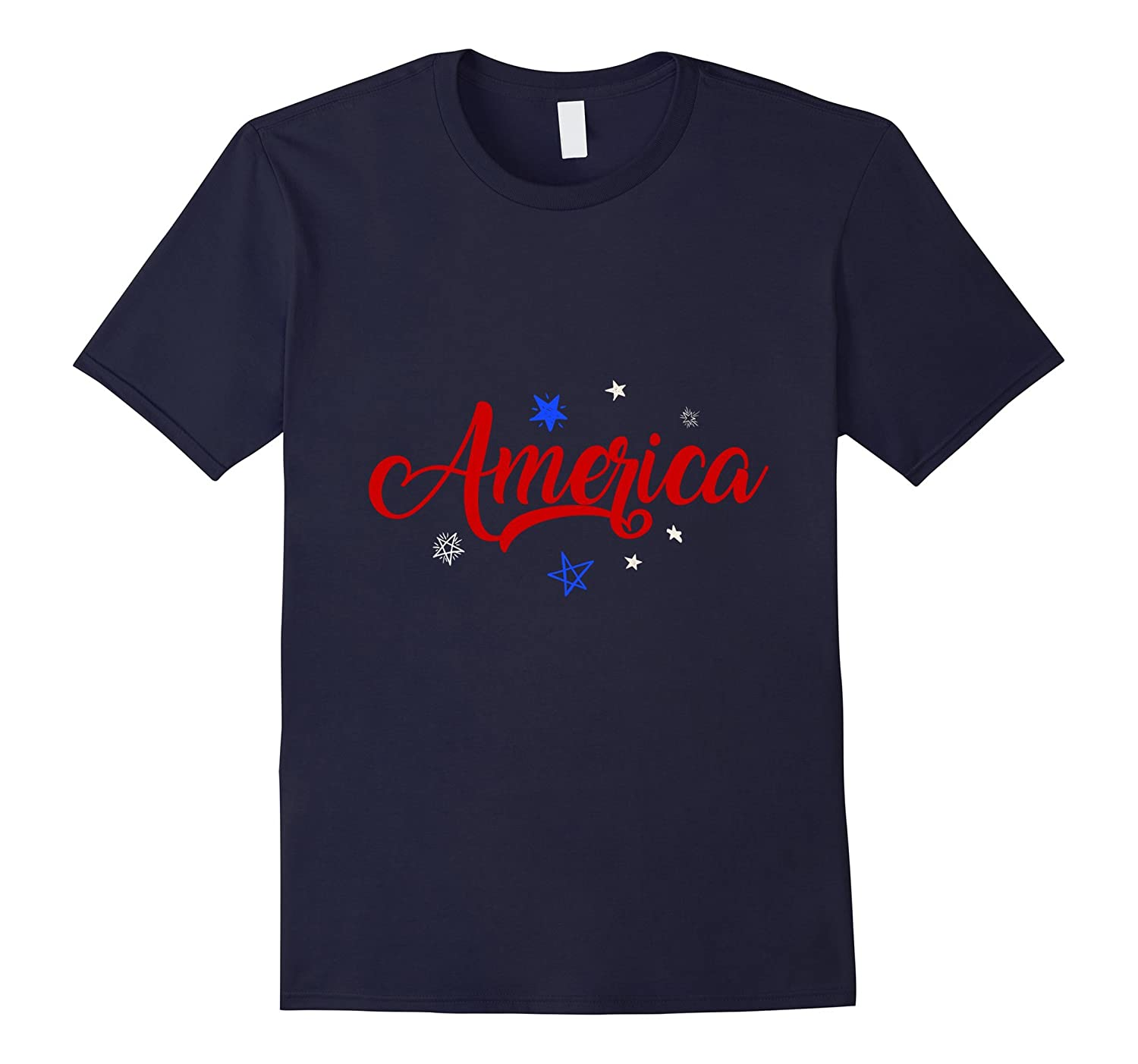 America 4TH Of July Tshirt-Vaci