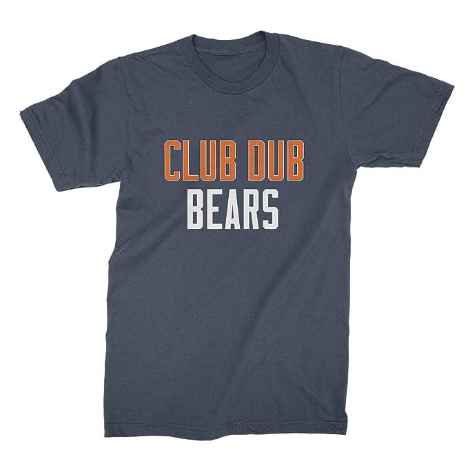 Amazon.com: Club Dub Bears - Camiseta de fútbol de Chicago ...