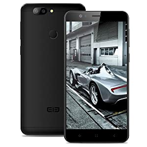 Elephone P8 mini Smartphone, 5.0 Pollici FHD IPS Display Android 7.0 4G Telefono Cellulari, MTK6750T Octa Core 1.5GHz, 4GB RAM + 64GB ROM, 16.0MP AF+13.0MP Rear Camera, Dual Sim, WiFi Hotkont Fingerprint Sensor GPS OTG Cellulare- Nero