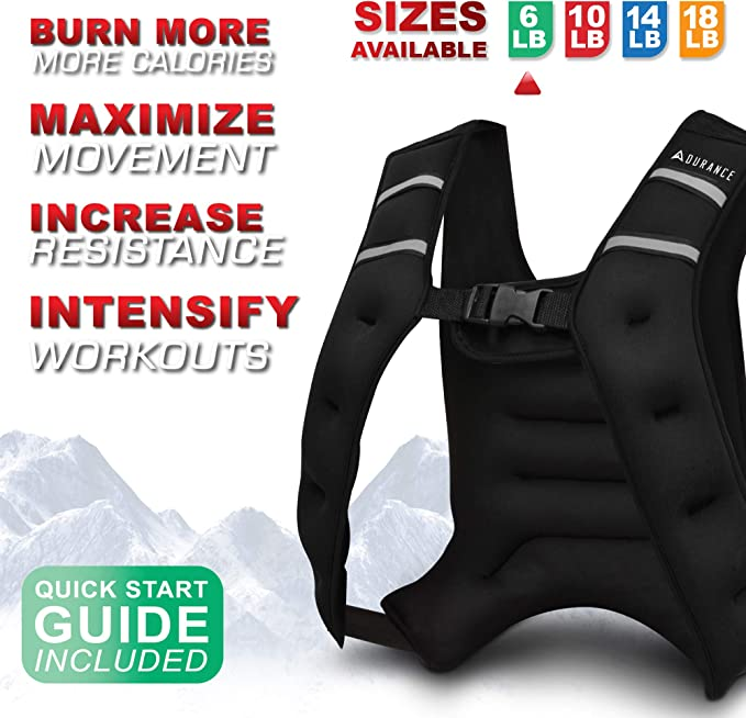 The 8 Best Weighted Vests for 2021 [Reviews and Buying Guide] 4