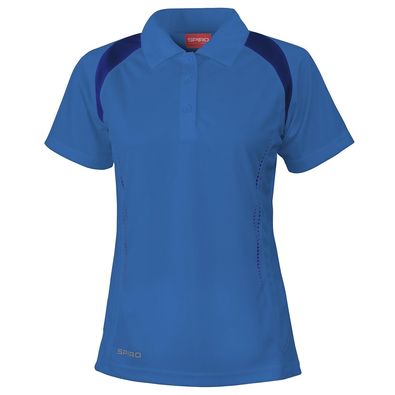 Spiro - Polo Sport Performance - Femme  Amazon.fr  Vêtements et accessoires a80224f96643