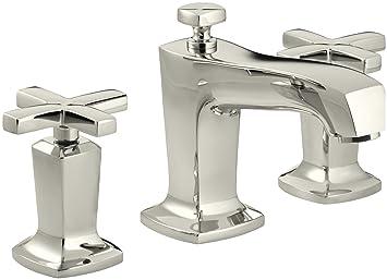 Kohler K 16232 3 Sn Margaux Widespread Lavatory Faucet Vibrant