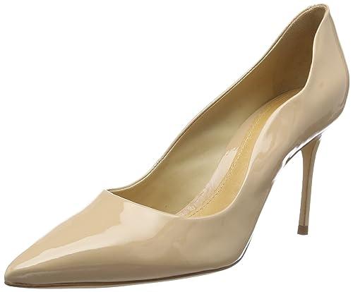 SchutzStilleto - Zapatos de Tacón Mujer, Color Beige, Talla 39