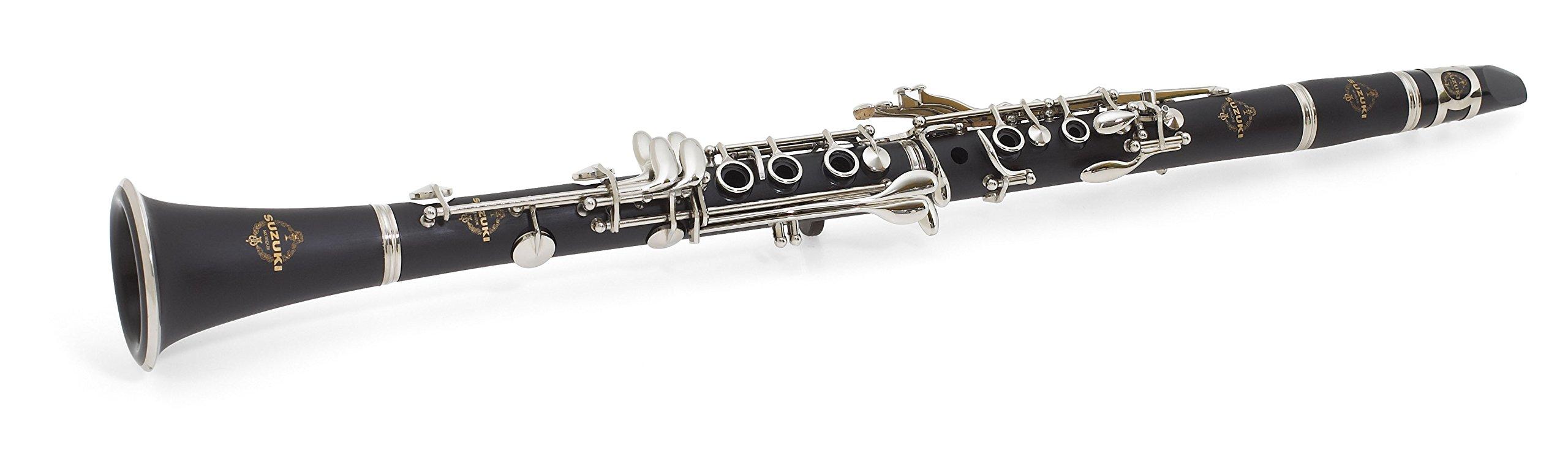 Suzuki MCC-1 Masterclass Clarinet Entry/Intermediate Level, Bb by Suzuki Music