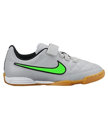 Jr Nike Tiempo Ic Kinder Fußballschuhe V4 Halle Hellgrau Nvm8wn0O