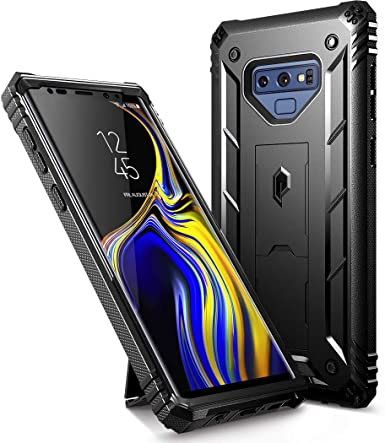 huge selection of 19829 ef31f Galaxy Note 9 Rugged Case, Poetic Revolution [360 Degree Protection]  [Kick-Stand] Full-Body Rugged Heavy Duty Case with [Built-in-Screen  Protector] ...