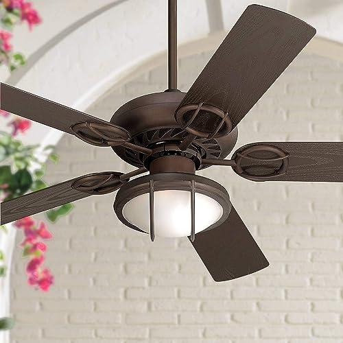 52″ Orb Outdoor Ceiling Fan
