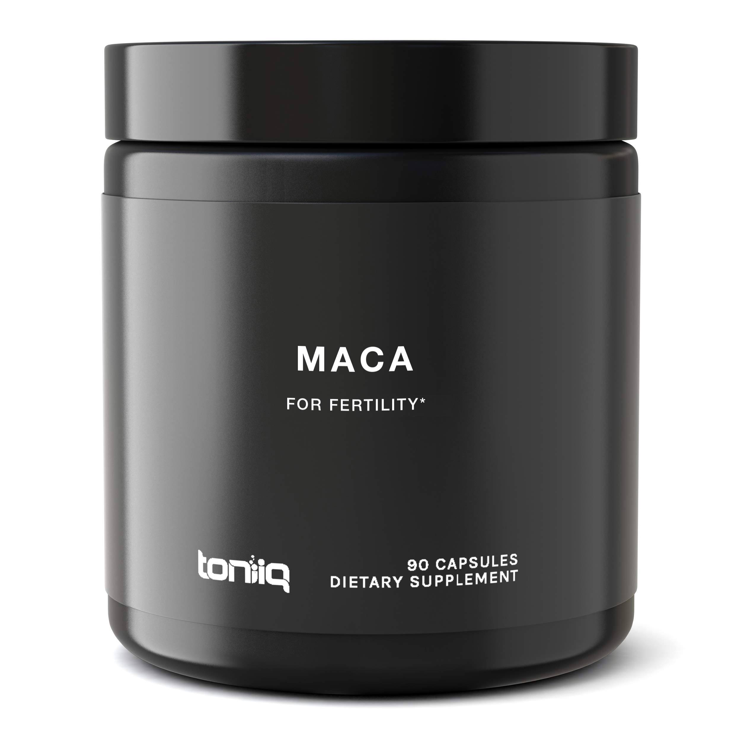 Single Origin USDA Organic Maca Root Capsules - Ultra High Strength - 10,000mg 20x Concentrated Extract - The Strongest Peruvian Maca Root Powder Available - Gelatinized Black, Red and Yellow Complex