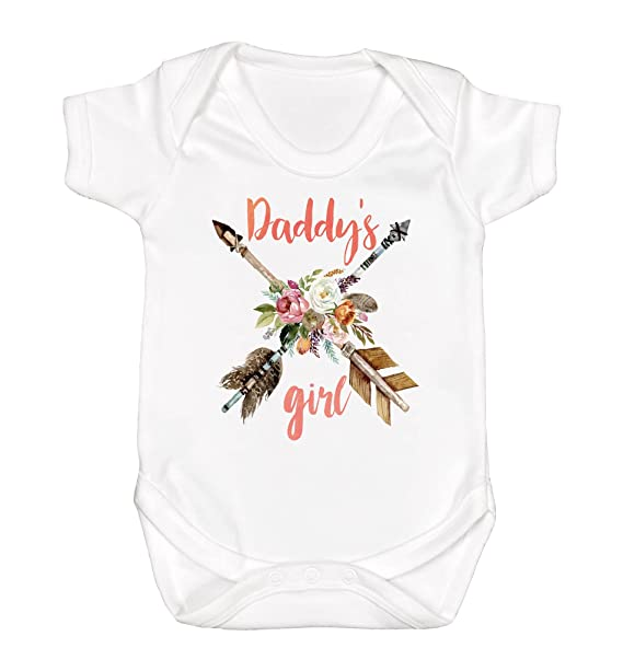 Amazon Com Daddy S Girl Baby Clothes Baby Girl Romper Baby Girl