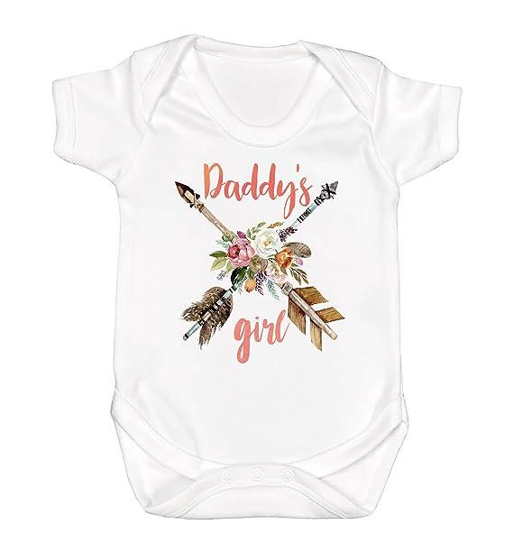 e987dbd2c Daddy's Girl Baby Clothes Baby Girl Romper Baby Girl Clothes I Love My  Daddy Gift for