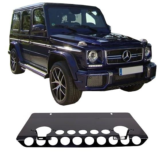 KITT SPMBW463FBAMGB placa de defensa delantera para todo terreno con protección para debajo de la carretera, diseño AMG, color negro brillante: Amazon.es: ...