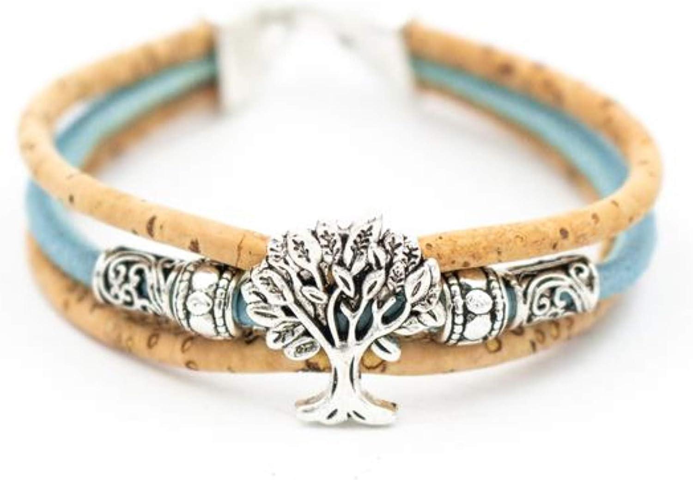 Bracelet 100/% Natural Cork bracelet  hypoallergenic cork vegan bracelet jewellery gift vegan leather handmade CHRISTMAS  eco friendly