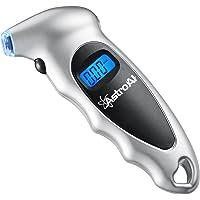 AstroAI Cyfrowy miernik ciśnienia w oponach, z dużym wyświetlaczem LCD, do samochodów, samochodów terenowych…