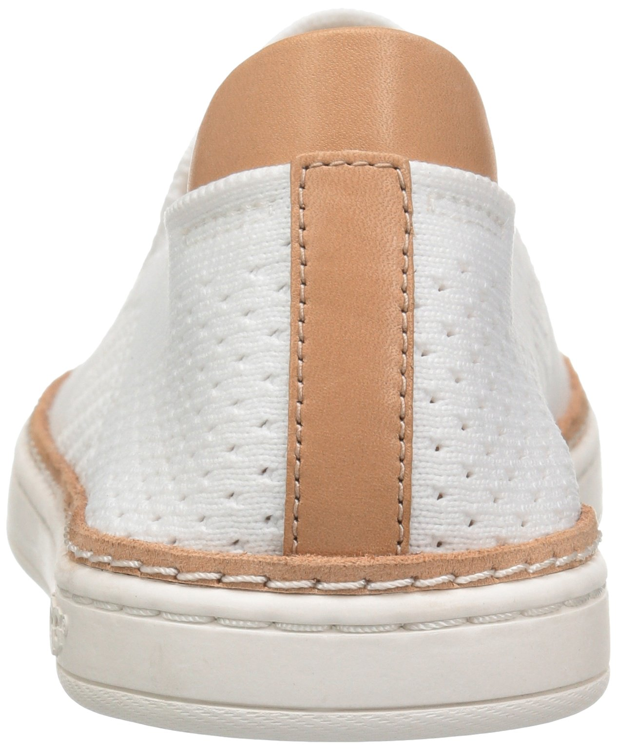 1035f5f714b UGG Sammy Knit and Leather White Fashion Sneaker Tennis Shoe Size 5.5 US