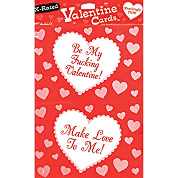 x rated valentine day cards 10 cards with envelopes package of 2