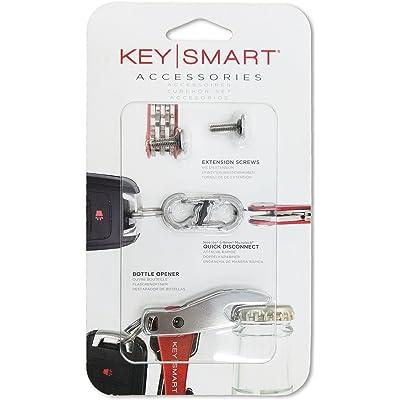 Paquete de accesorios KeySmart | Paquete de expansión-14 llaves, Quick DisConnect, y abridor