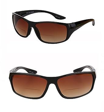 bccdcaad70 2 Pair of Unisex High Density (HD) Bifocal Driving Sunglasses (Black