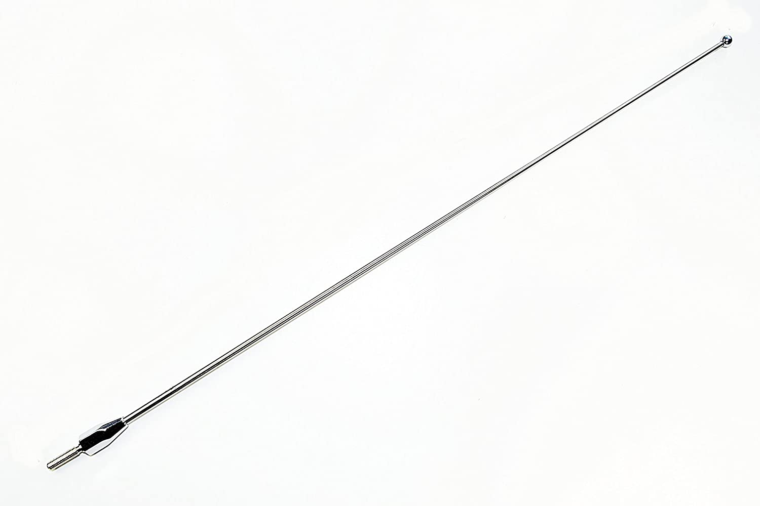 AntennaMastsRus - Made in USA - 4' Silver Aluminum Antenna is Compatible with Saturn Vue (2002-2007)