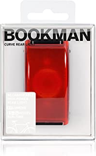 Bookman Illuminazione Curve Rear Light Black, 325