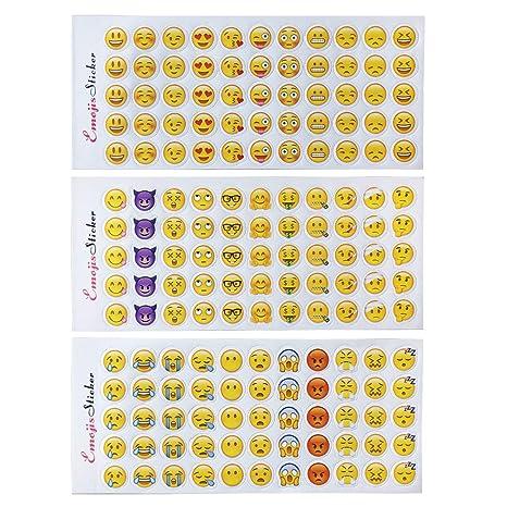 660 etiquetas engomadas felices de Emoji 12 etiquetas engomadas divertidas lindas de las hojas Caras felices El Emoji más popular de iPhone Facebook ...
