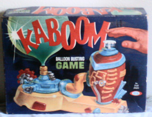 Amazoncom  Vintage Kaboom Balloon Busting Game Ideal