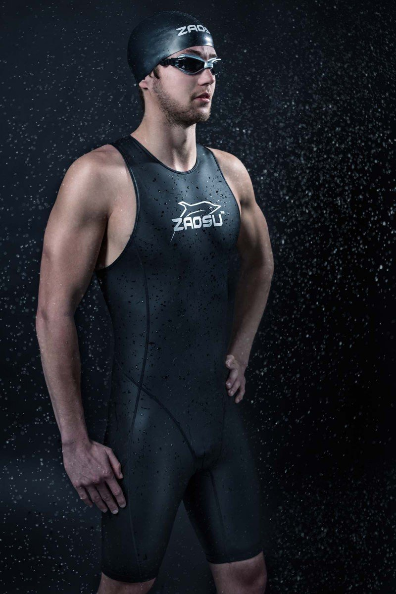 ZAOSU Speed Suit Triathlon alle Ginocchia per Uomo e Donna