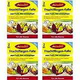 Aeroxon Fruchtfliegen-Falle, Leimfalle (4 x 2er Set)
