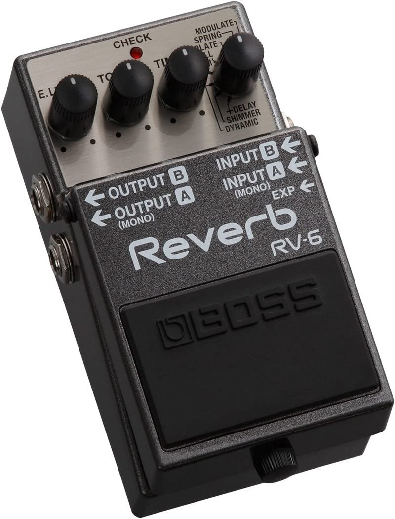 BOSS Reverb Guitar Pedal (RV-6)