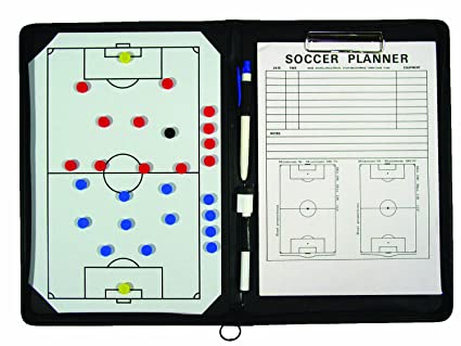 Amazon.com: teamgear portafolios Fútbol Portapapeles, café ...