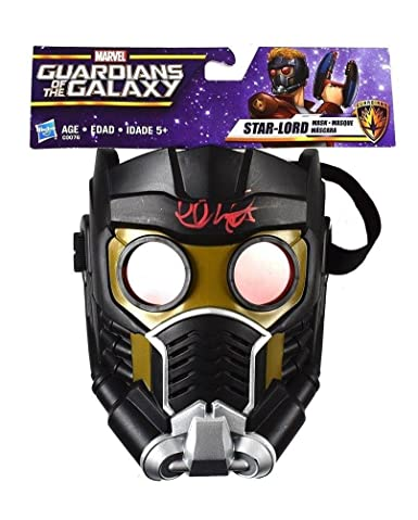 Chris Pratt Guardians of The Galaxy Autographed Signed Mask Certified COA - JSA Certified