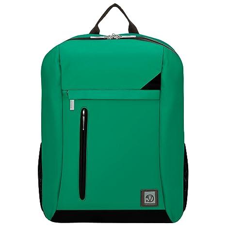 "VanGoddy Adler Jade Green Laptop Backpack for Lenovo Flex / ThinkPad / IdeaPad / Yoga 14"" - 15.6inch"
