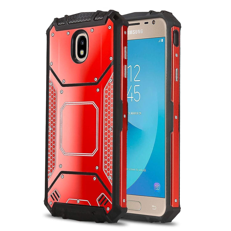 reputable site 2a4da 0766f Phone Case for [Samsung Galaxy J3 Orbit (S367VL)], [Alloy Series][Gun  Metal] Aluminium [Metal Plate] Military Grade Cover for Galaxy J3 Orbit ...