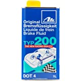 ATE 706202 Original TYP 200 DOT 4 Brake Fluid - 1 Liter