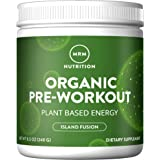 MRM - Organic Pre Workout, Island Fusion, 8.5 Ounce