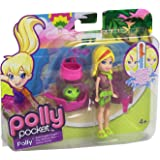 Mattel Polly Pocket - Zip 'N Splash - Color Change - Polly