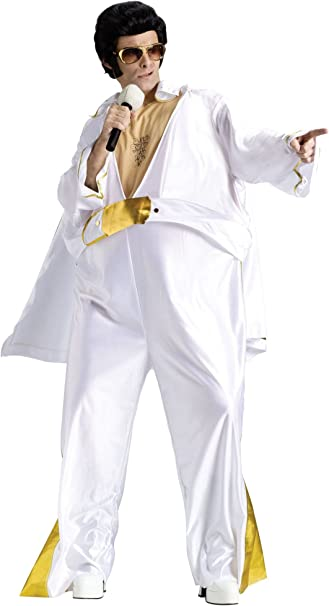 Disfraz de Estrella de Rock para Adultos, estándar: Amazon.es ...