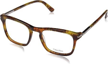No polarizadas,Alto de las lentes: 46 milímetros,Puente: 19 milímetros,Calvin Klein Montura de gafas