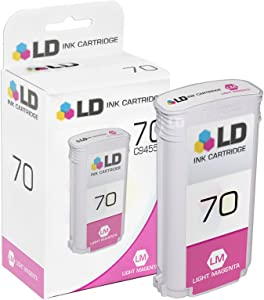 LD Remanufactured Ink Cartridge Replacement for HP 70 C9455A (Light Magenta)